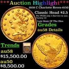 1839 C Charlotte Breen-6150 Gold Classic Head