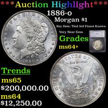 1886-o Morgan Dollar $1 Graded ms64+ By SEGS (fc)