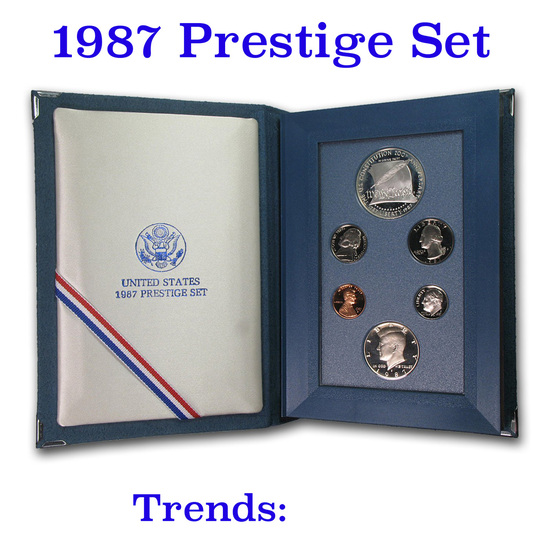 1987 United States Mint Prestige Proof Set