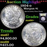 ***Auction Highlight*** 1904-o Morgan Dollar $1 Graded GEM++ Unc By USCG (fc)
