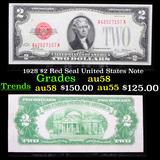 1928 $2 Red Seal United States Note Grades Choice AU/BU Slider