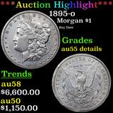 ***Auction Highlight*** 1895-o Morgan Dollar $1 Grades AU Details (fc)