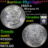 ***Auction Highlight*** 1883-s Morgan Dollar $1 Graded Select Unc By USCG (fc)