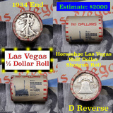 ***Auction Highlight*** Old Casino 50c Roll $10 In Halves