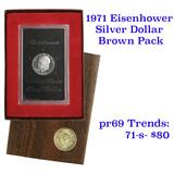 1971-s Proof Silver Eisenhower Dollar