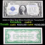 1928A $1 Blue Seal Silver Certificate