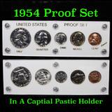 1954 Proof Set in Capital Plastic Holder