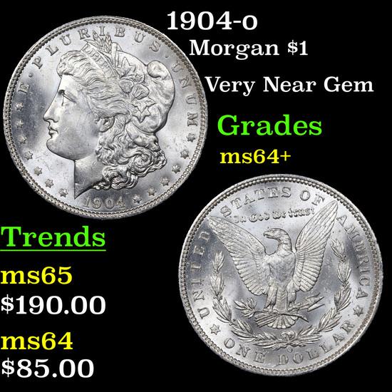 1904-o Morgan Dollar $1 Grades Choice+ Unc