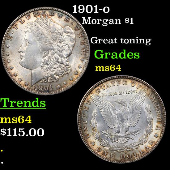 1901-o Morgan Dollar $1 Grades Choice Unc