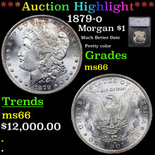 1879-o Morgan Dollar $1 Graded ms66 By SEGS (fc)