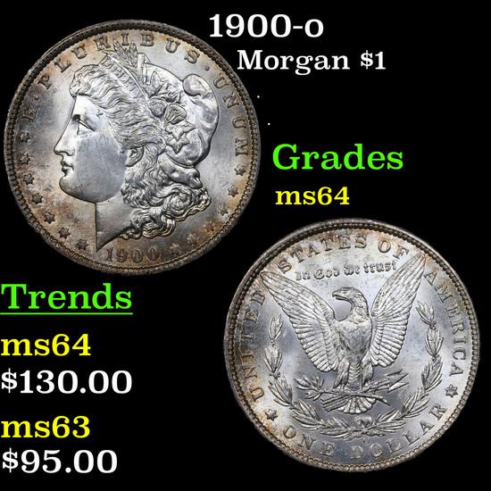 1900-o Morgan Dollar $1 Grades Choice Unc