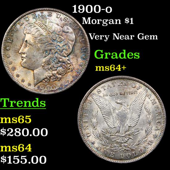 1900-o Morgan Dollar $1 Grades Choice+ Unc