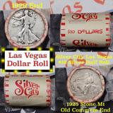 **Auction Highlight**Old Casino 50c Roll $10 Halves Las Vegas Casino Silver City 1929 Walker & 1925