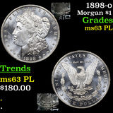 1898-o Morgan Dollar $1 Grades Select Unc PL
