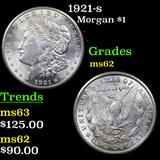 1921-s Morgan Dollar $1 Grades Select Unc