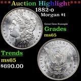 ***Auction Highlight*** 1882-o Morgan Dollar $1 Grades GEM Unc (fc)