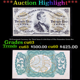 ***Auction Highlight*** US Fractional Currency 25c Third Issue fr-1294 Bust of Wm Fessenden Green Re