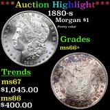 ***Auction Highlight*** 1880-s Morgan Dollar $1 Grades GEM++ Unc (fc)
