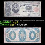 Ultra Rare 1891 $1 Trteasury Note