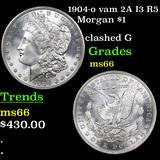 1904-o vam 2A I3 R5 Morgan Dollar $1 Graded GEM+ Unc
