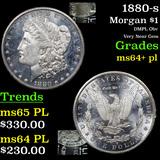 1880-s Morgan Dollar $1 Graded Choice Unc+ PL