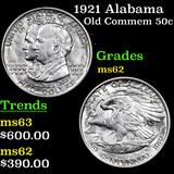 1921 Alabama Old Commem Half Dollar 50c Graded Select Unc