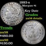 1883-s Morgan Dollar $1 Graded AU Details