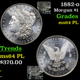 1882-o Morgan Dollar $1 Graded Choice Unc PL