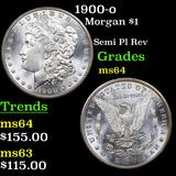 1900-o Morgan Dollar $1 Graded Choice Unc
