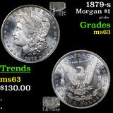 1879-s Morgan Dollar $1 Graded Select Unc