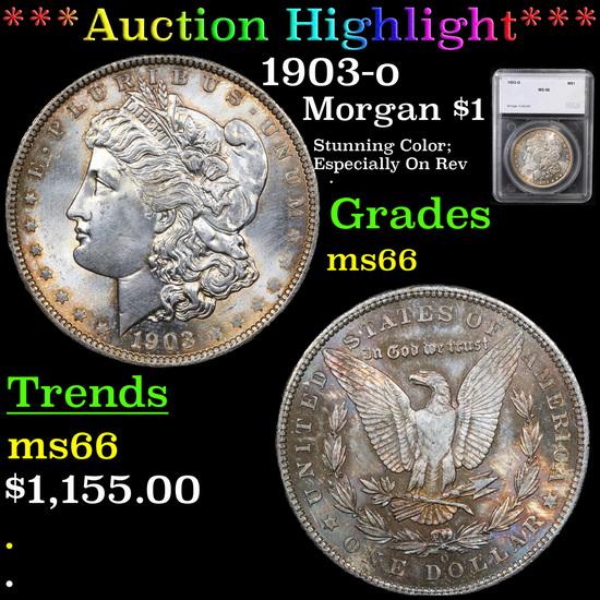 ***Auction Highlight*** 1903-o Morgan Dollar $1 Graded ms66 By SEGS (fc)