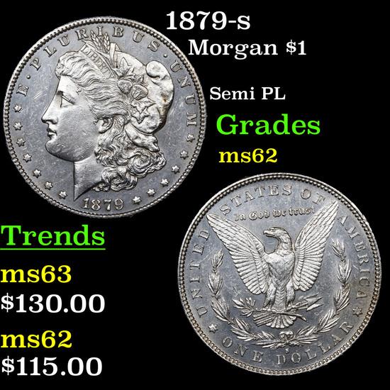 1879-s Morgan Dollar $1 Grades Select Unc