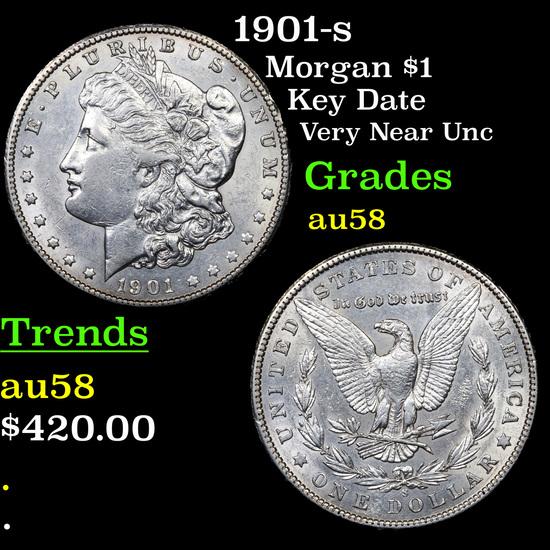 1901-s Morgan Dollar $1 Grades Choice AU/BU Slider
