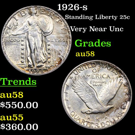 1926-s Standing Liberty Quarter 25c Grades Choice AU/BU Slider