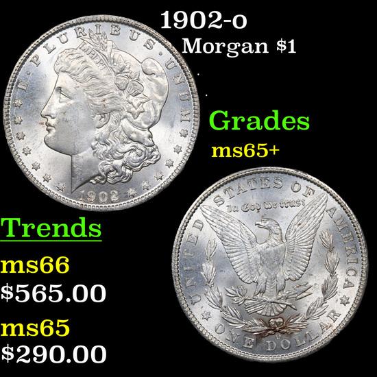 1902-o Morgan Dollar $1 Grades GEM+ Unc