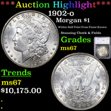 ***Auction Highlight*** 1902-o Morgan Dollar $1 Graded ms67 By SEGS (fc)