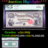 ***Auction Highlight*** PCGS 1880 $10 Legal Tender