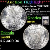 ***Auction Highlight*** 1889-o Neat TOP POP! Morgan Dollar $1 Graded ms66 By SEGS (fc)