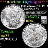 ***Auction Highlight*** 1890-o Near TOP POP! Morgan Dollar $1 Graded ms66 By SEGS (fc)