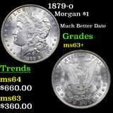 1879-o Morgan Dollar $1 Grades Select+ Unc