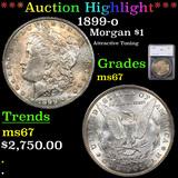 ***Auction Highlight*** 1899-o Morgan Dollar $1 Graded ms67 By SEGS (fc)
