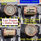 ***Auction Highlight*** Old Casino 50c Roll $10 Halves Las Vegas Casino The Mint 1912 Barber & 1929