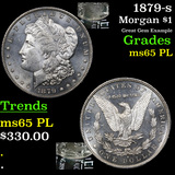 1879-s Morgan Dollar $1 Grades GEM Unc PL