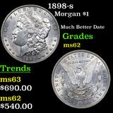 1898-s Morgan Dollar $1 Grades Select Unc