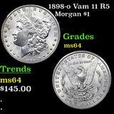 1898-o Vam 11 R5 Morgan Dollar $1 Grades Choice Unc