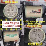 ***Auction Highlight*** Old Casino 50c Roll $10 Halves Las Vegas Casino Flamingo 1952 Franklin & 192
