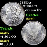 1882-o Morgan Dollar $1 Grades Choice+ Unc
