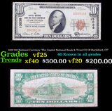 1929 $10 National Currency 'The Capitol National Bank & Trust CO Of Harthford, CT' Grades vf+