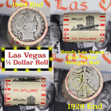 ***Auction Highlight*** Old Casino 50c Roll $10 Halves Las Vegas Casino Sands 1929 Walker & 1904 Bar