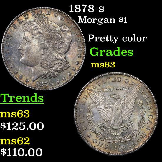 1878-s Morgan Dollar $1 Grades Select Unc
